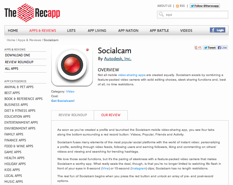 Recapp_Socialcam_review_screenshot