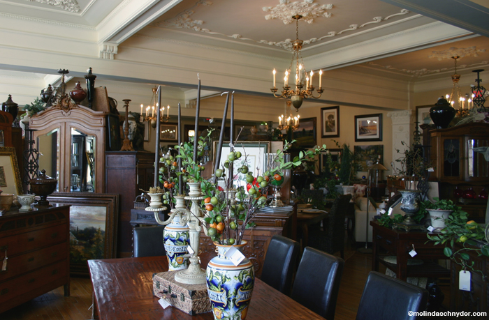 Mary Carol Garrity Style at Home, Nell Hill's in Atchison, Kansas