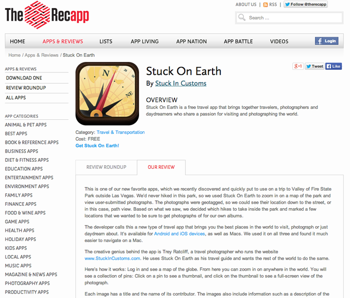 Recapp_Stuck on Earth review Screen Shot
