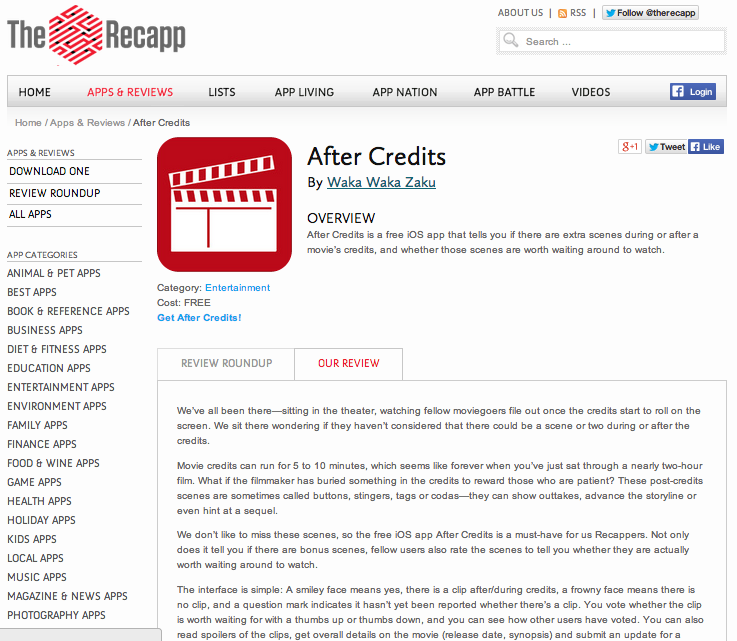 Recapp_after credits Screen Shot