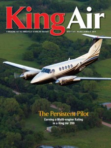 Rick Nutt_King Air Magazine_Aug 2014_cover