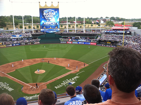Royals, Kauffman Stadium, Kansas City